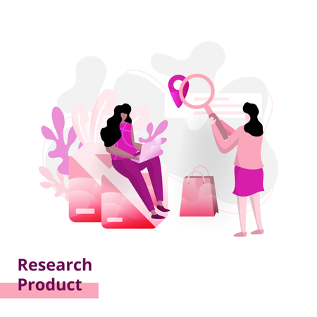 Product Research page Illustration
