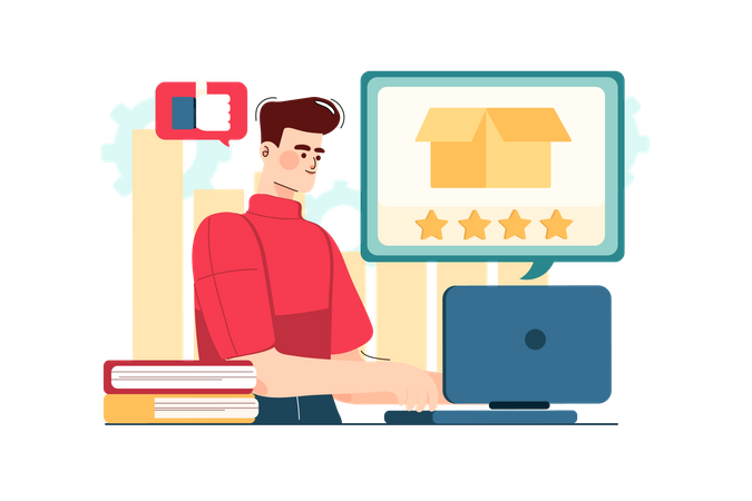 Product Reviews Illustration
