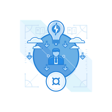 Product Workflow Illustration