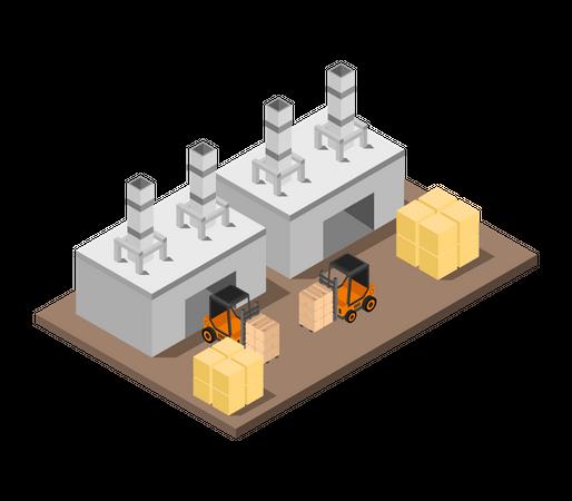 Production house Illustration