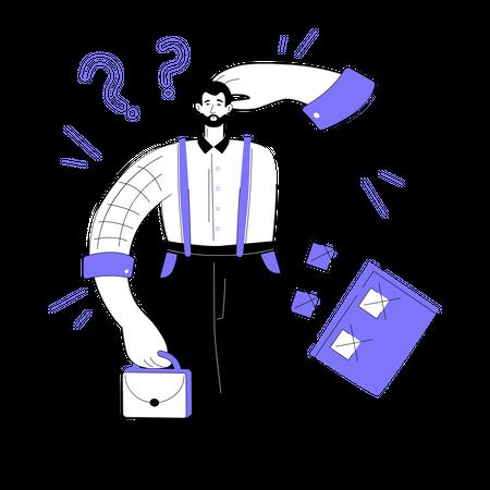 Productivity concept Illustration
