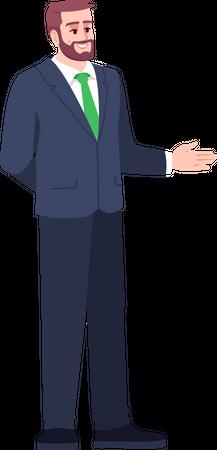 Professional Businessman Illustration