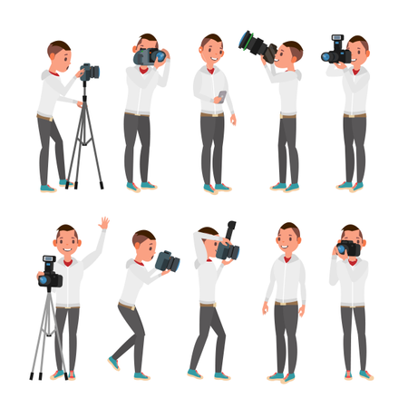 Professional Photographer Illustration