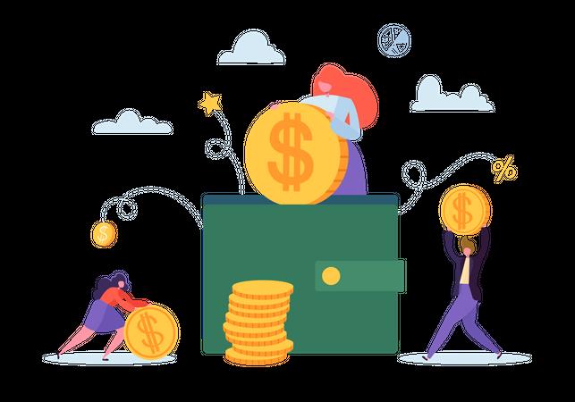 Profit saving Illustration