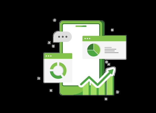 Project data analysis Illustration