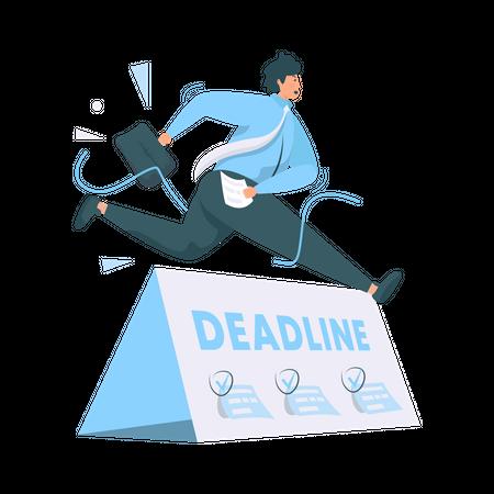 Project Deadline Illustration