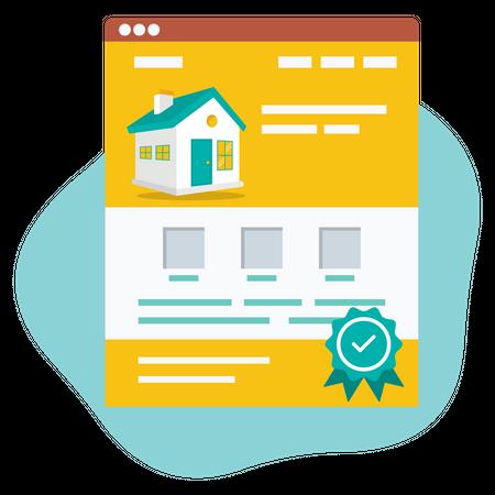 Property Certificate Illustration