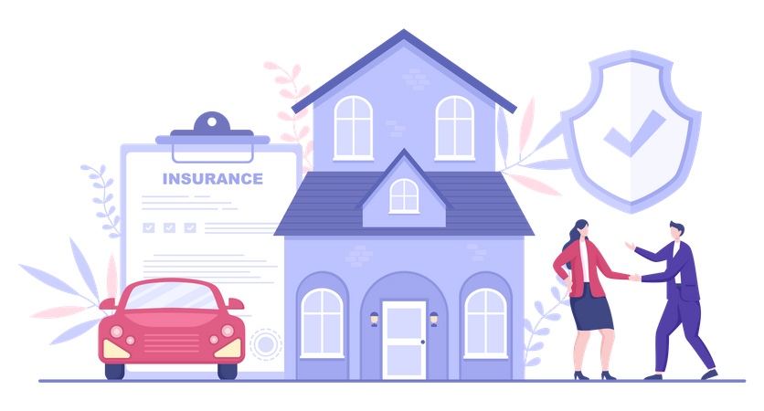 Property Insurance Policy Illustration