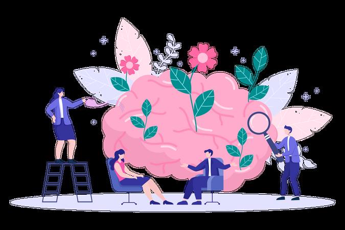 Psychology Illustration