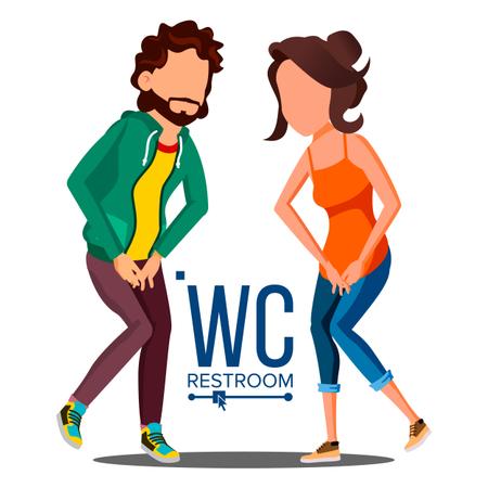 Public WC Sign