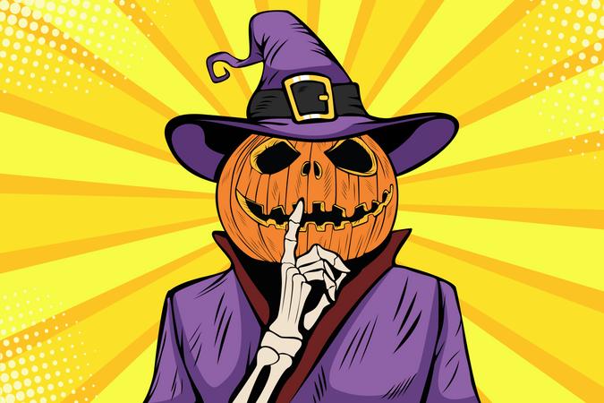 Pumpkin Jack Illustration