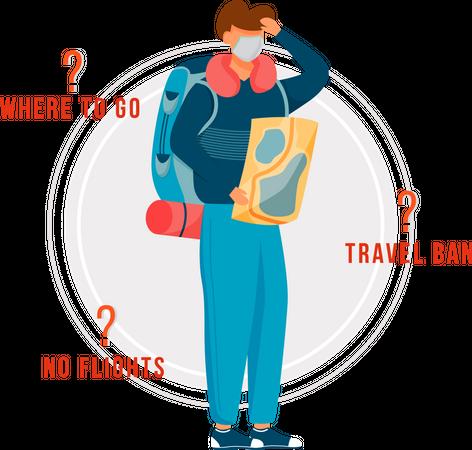 Quarantine transportation questions Illustration