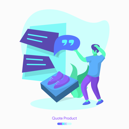 Quote Product Illustration