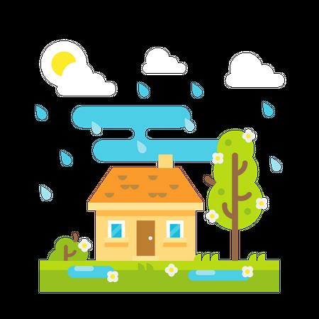 Rainfall Illustration