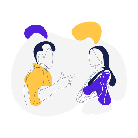 Refer a Friend and Get point Illustration