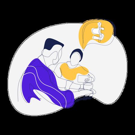 Referral Reward Illustration