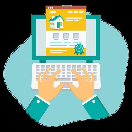 Registration Property Illustration