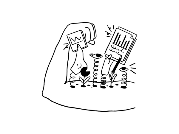 Report writing Illustration