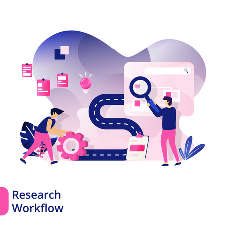 Research Workflow Illustration