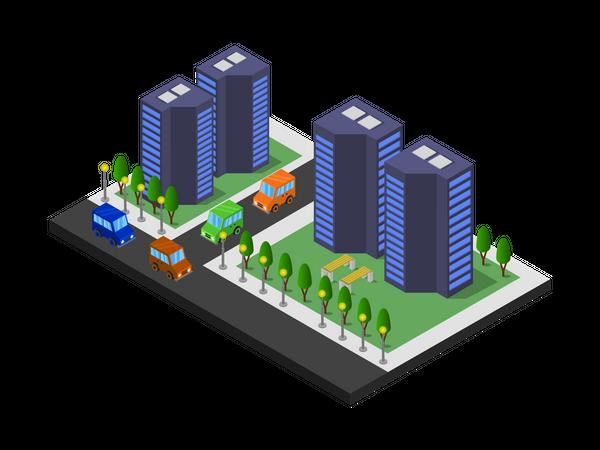 Residencies Illustration