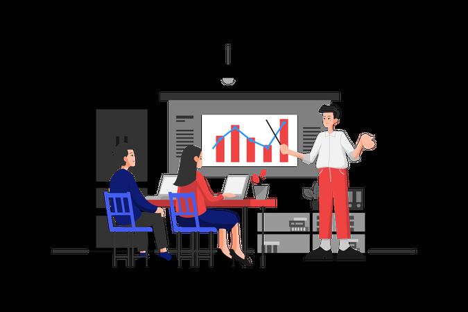 Revenue Analytics Illustration