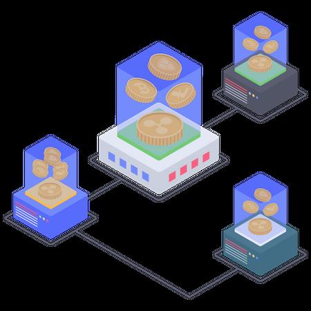 Ripple Mining connectivity Illustration