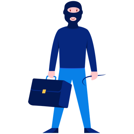 Robber Illustration