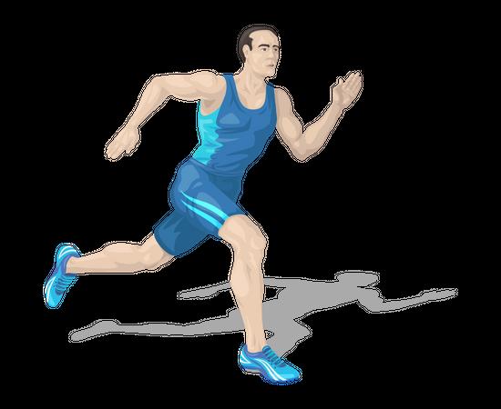 Runner Illustration