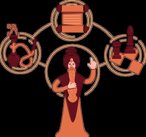 Sage archetype Illustration