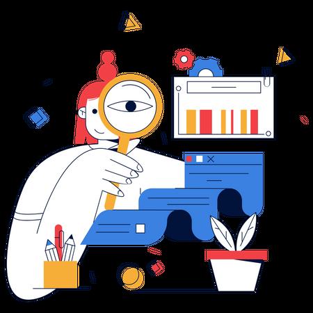 Sales Analysis Illustration