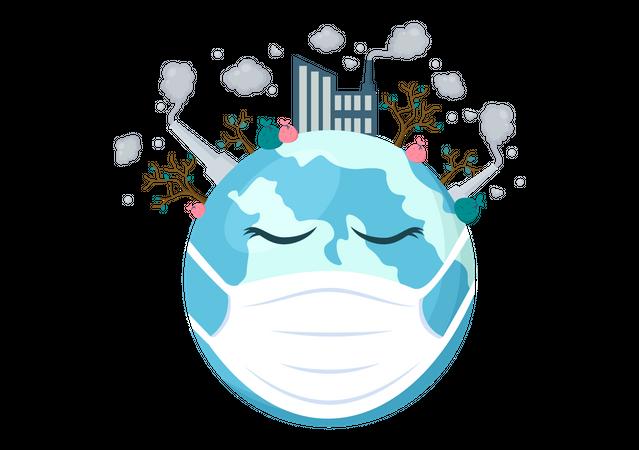 Save Ecology Illustration