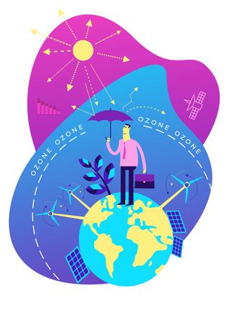Save environment Illustration