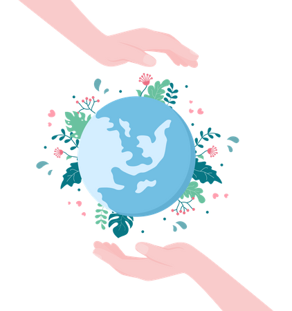 Save Our Planet Illustration