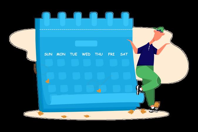 Schedule Illustration