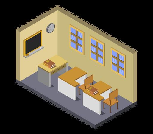 School room Illustration