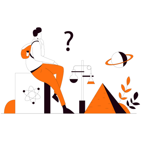 Science education Illustration