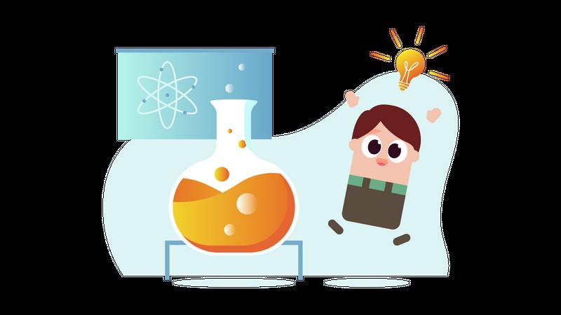 Science lab Illustration