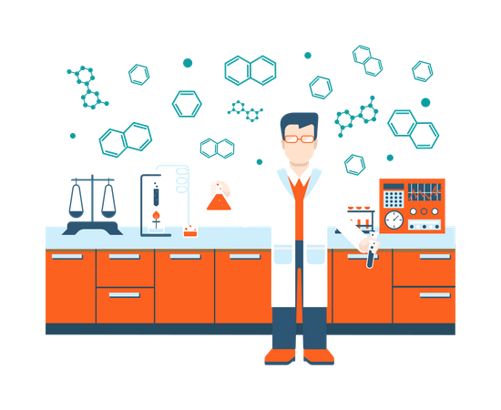 Scientific research Illustration