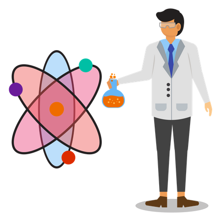 Scientist Illustration
