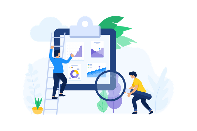 Search Big Data Illustration