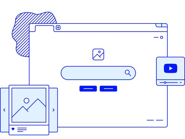 Search page Illustration