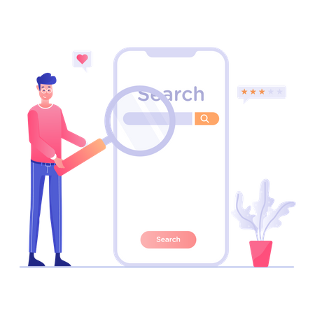 Search Rating Illustration