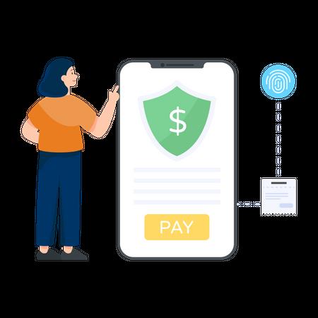 Secure Payment Illustration