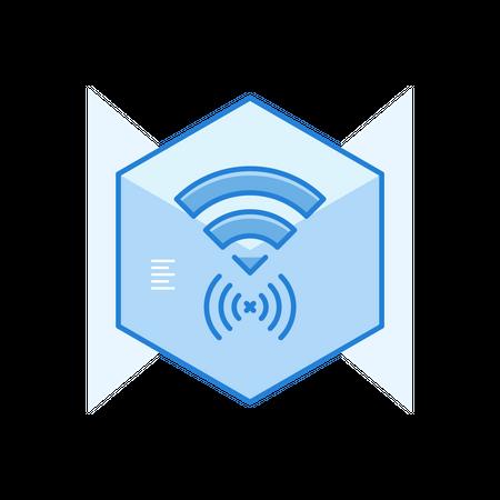 Secure Wifi Illustration
