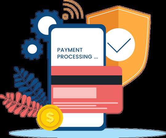 Secured Payment Illustration