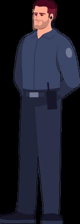 Security Agent Illustration