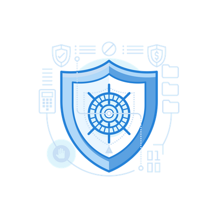 Security Concept Illustration