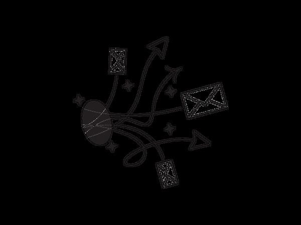 Sending Email Illustration