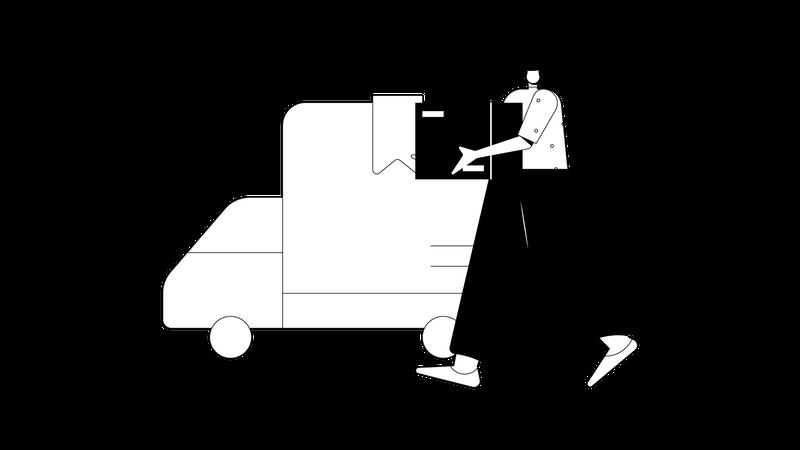 Sending to Distribution Illustration