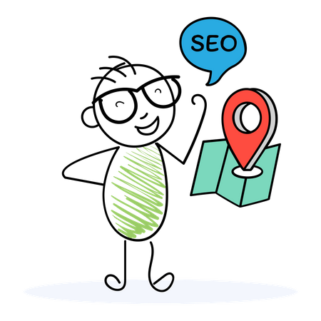Seo Navigation Illustration